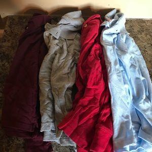 Other - Boys long sleeve polo shirts 5/6